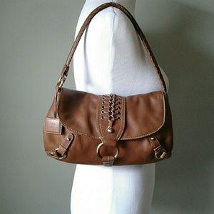 Via Spiga brown leather handbag